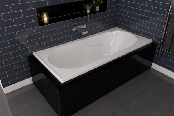adatto rectangle bath decina bathroomware