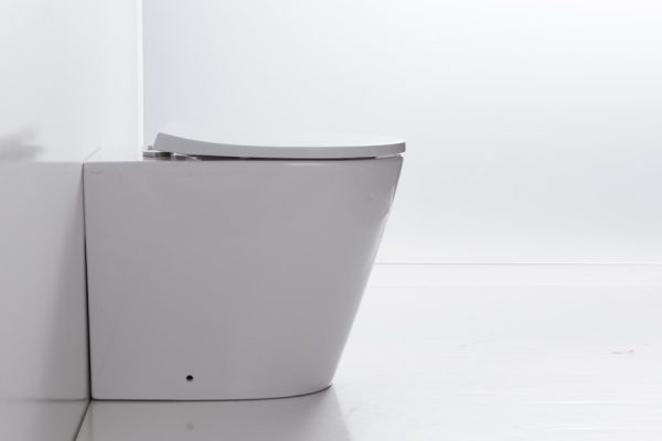 RENEE RIMLESS WALL FACED PAN & IN-WALL CISTERN - Decina