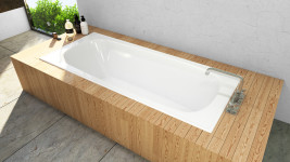 Giorgia Pressed Metal Bath