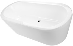 Cool Freestanding Oval Bathtub